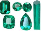 Loose Colombian emeralds for sale