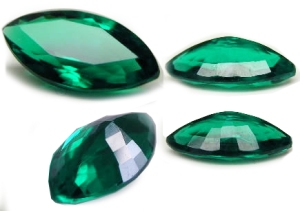 Fake emeralds