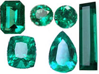 Loose natural emeralds from Colombia for sale