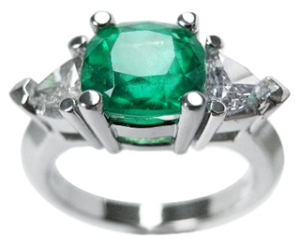 May birthstone rings emerald